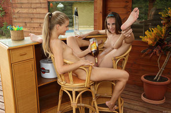 Cayenne And Tina Blade In Liquored Lesbos - Picture 10